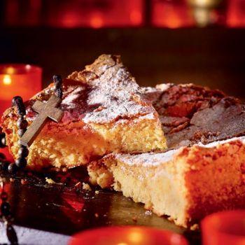 Gatό de almendras Mallorquin: Κέικ αμυγδάλου της Μαγιόρκα